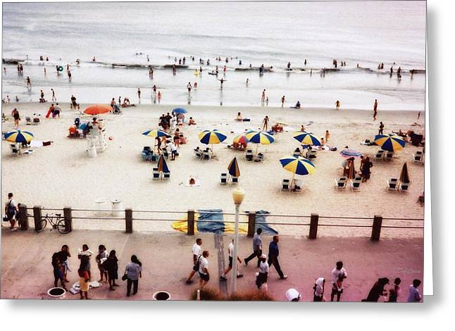 Virginia Beach Greeting Cards - Day at the Beach Greeting Card by Deborah  Crew-Johnson