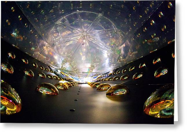 Daya Bay Neutrino Experiment Greeting Card by Brookhaven National Laboratory