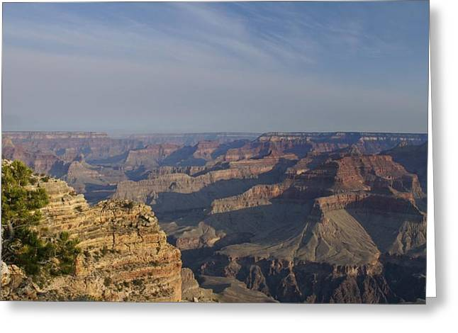 Looking At The Past Greeting Cards - Daybreak at the Canyon Greeting Card by Brian Kamprath