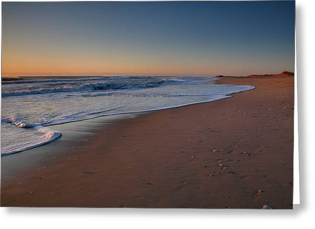 Daybreak On Hatteras Greeting Card by Steven Ainsworth