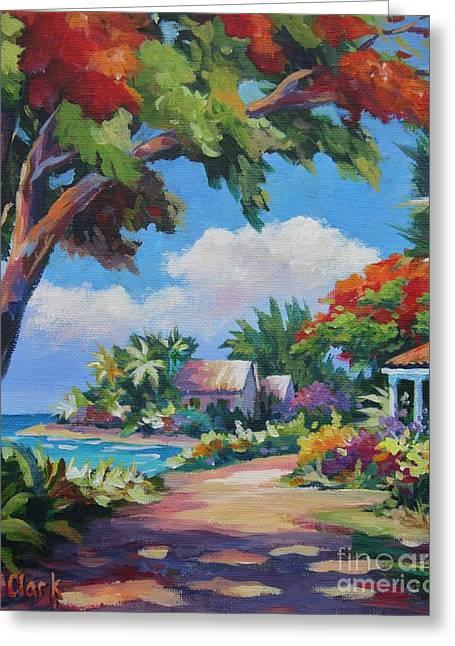 Acrylic Art Greeting Cards - Daylight and shade Greeting Card by John Clark