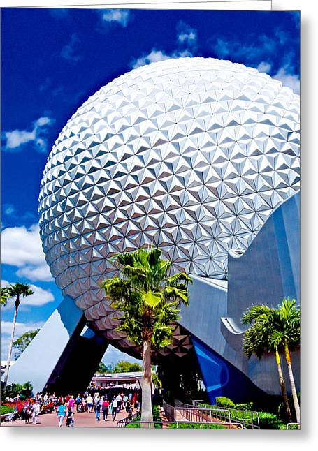 Disney Photographs Greeting Cards - Daylight Dome Greeting Card by Greg Fortier