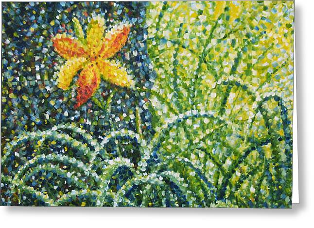 Day Lilly Greeting Cards - Daylilies I Greeting Card by Jim Rehlin