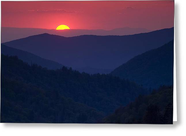 Morton Greeting Cards - Days End Greeting Card by Andrew Soundarajan