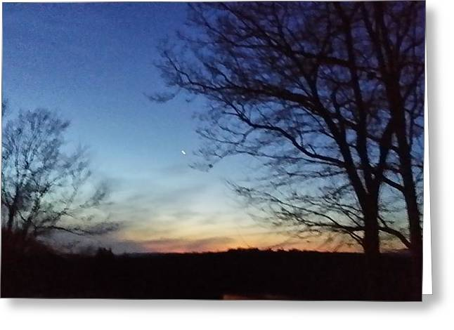 Senic View Greeting Cards - Days End Greeting Card by Bradford j Cole