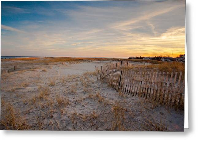 Chatham Greeting Cards - Days End Greeting Card by Brian MacLean