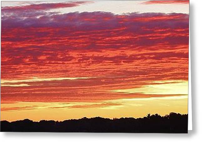 Galt Greeting Cards - Days End Greeting Card by Bruce Bley