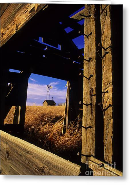 Days Gone By Greeting Card by Bob Christopher