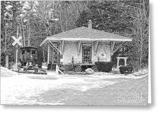 Rolling Luggage Greeting Cards - Days Gone By Greeting Card by Marcia Lee Jones