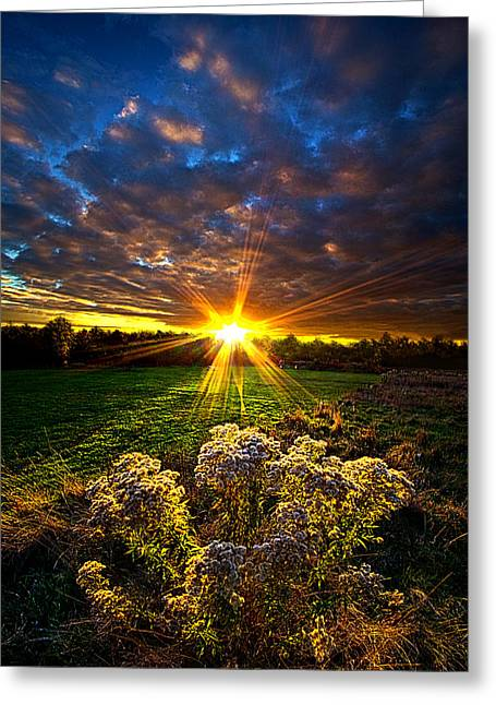 Http Greeting Cards - Days Gone By Greeting Card by Phil Koch