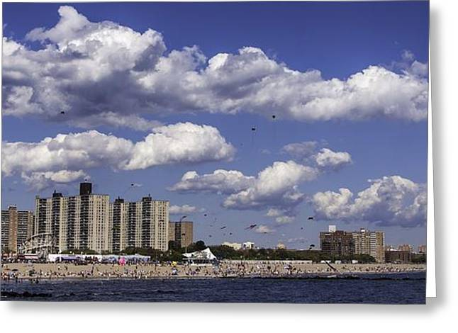 York Beach Greeting Cards - Days of Summer Greeting Card by Edward Khutoretskiy