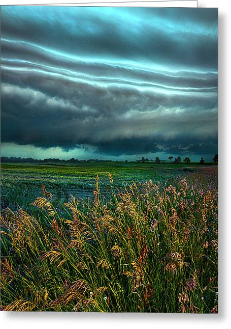 Summer Storm Greeting Cards - Days of Thunder Greeting Card by Phil Koch