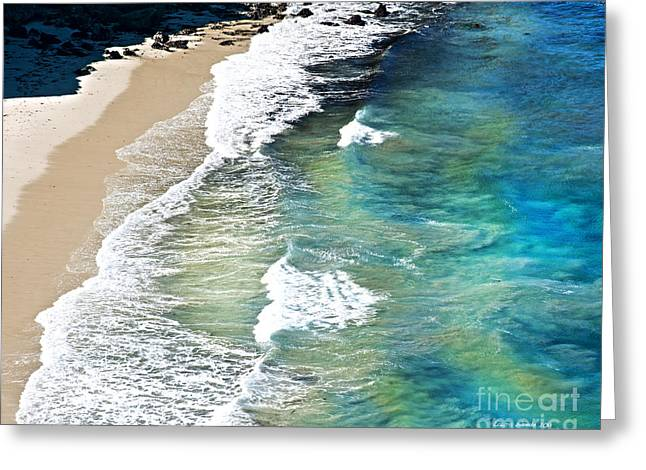 California Beaches Greeting Cards - Days that Last Forever Waves That Go On In Time Greeting Card by Artist and Photographer Laura Wrede