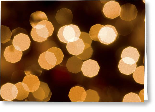 Aperture Greeting Cards - Dazzling Lights Greeting Card by Rich Franco