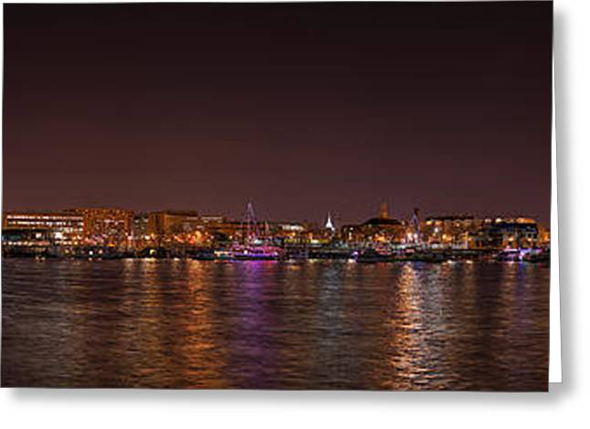 Dc Waterfront Greeting Card by Metro DC Photography