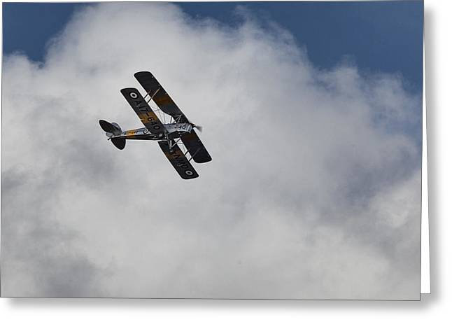 De Havilland Greeting Cards - De Havilland DH-82A Tiger Moth Greeting Card by Douglas Barnard