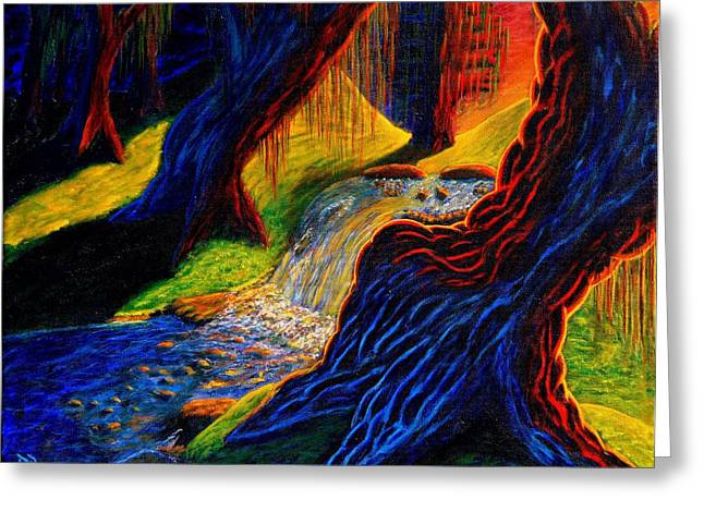 Steal Prints Greeting Cards - Dead Forest Greeting Card by Damen Bonneau