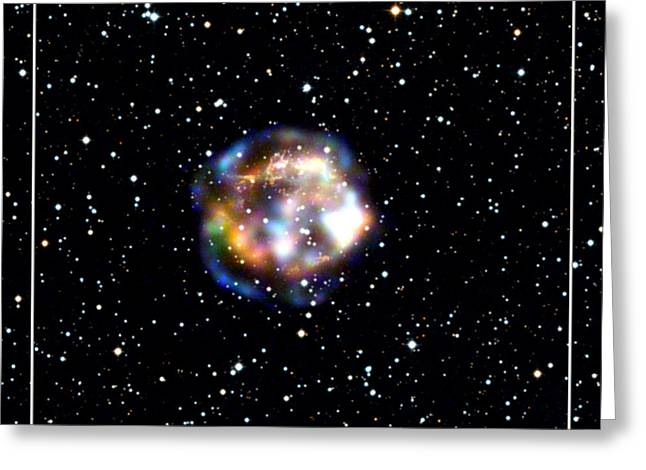 Spectroscopic Greeting Cards - Dead Star NASA Greeting Card by Rose Santuci-Sofranko