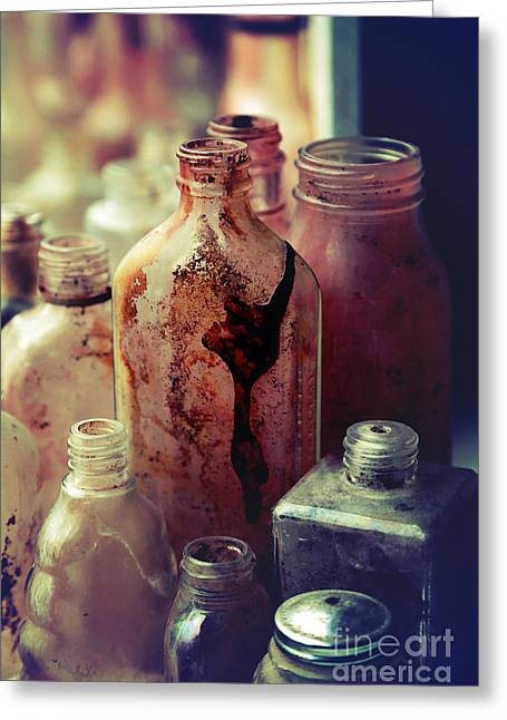 Medication Greeting Cards - Deadly Potions Greeting Card by Trish Mistric