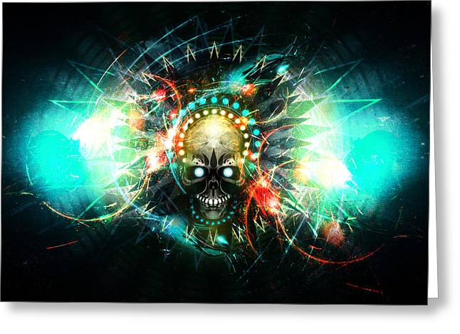 Precurser Greeting Cards - Deadstep -VIP Greeting Card by George Smith