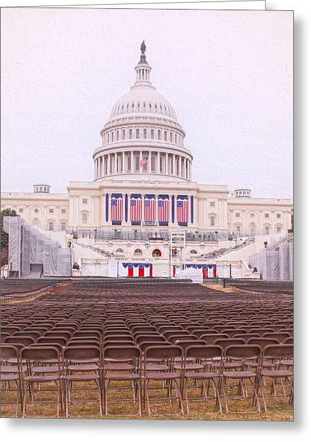 Inauguration Greeting Cards - Deaf Ears Greeting Card by Cindy Archbell
