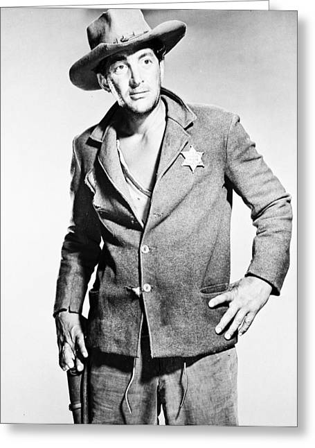 Rio Greeting Cards - Dean Martin in Rio Bravo  Greeting Card by Silver Screen