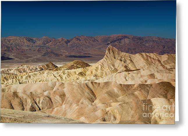 Death Valley Greeting Card by Andreas Tauber