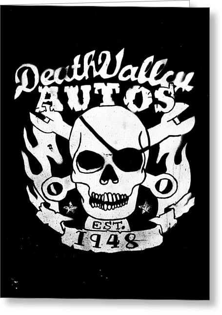 Phil Motography Clark Greeting Cards - Death Valley Autos Greeting Card by Phil