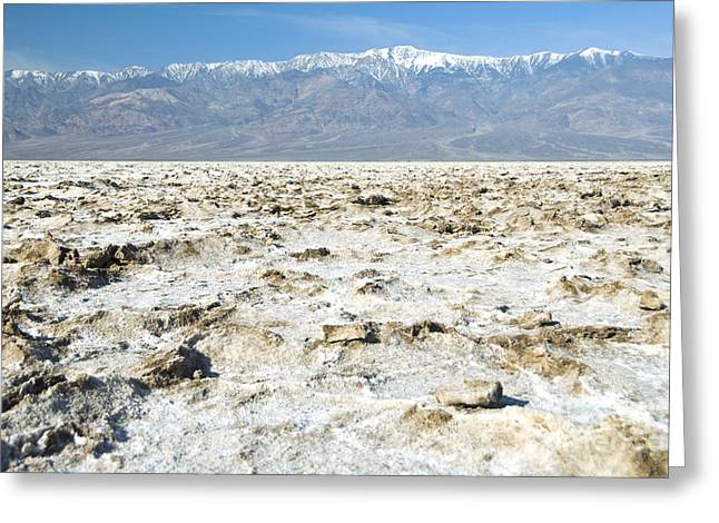 Californian Greeting Cards - Death Valley, Ca Greeting Card by Richard and Ellen Thane
