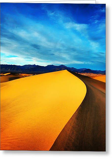 Death Valley National Park Greeting Cards - Death Valley Greeting Card by Darren  White