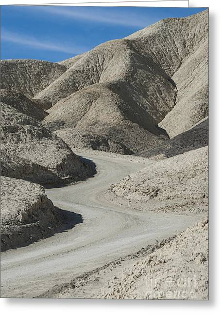 Landforms Greeting Cards - Death Valley Greeting Card by Juli Scalzi