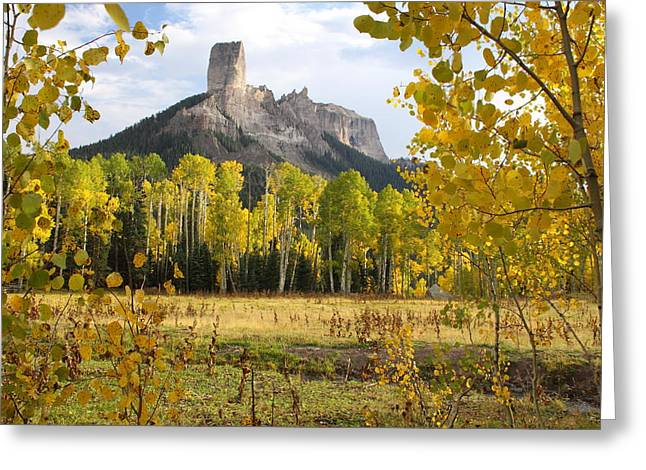 Deb's Meadow Greeting Card by Eric Glaser