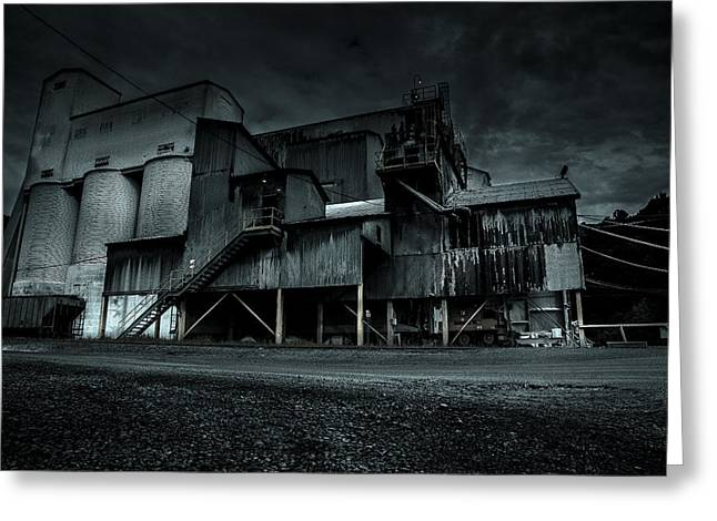 Metal Sheet Greeting Cards - Decay Greeting Card by David Jensen