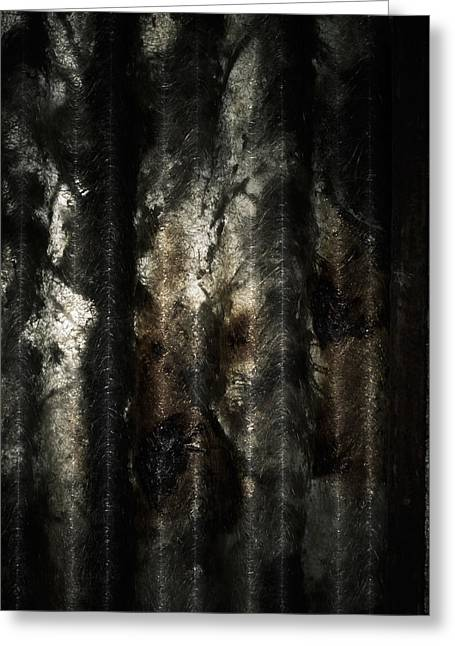 Decor Photography Greeting Cards - Decay Greeting Card by Wim Lanclus