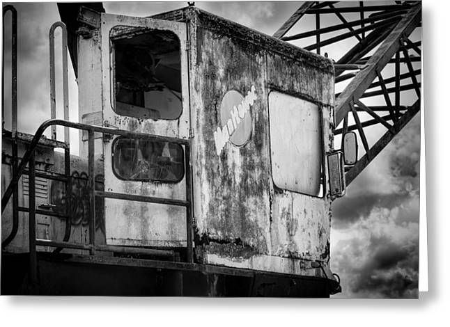 Dredge Greeting Cards - Decayed Glory - 5 Greeting Card by Rudy Umans