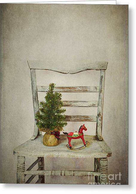 Wintry Photographs Greeting Cards - December Greeting Card by Elena Nosyreva
