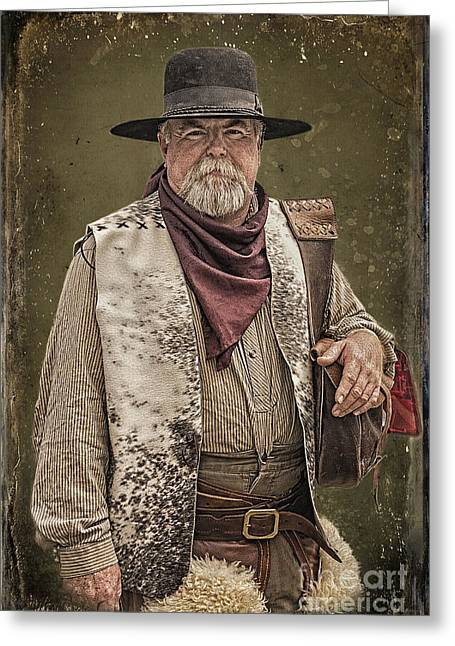 Prescott Greeting Cards - Decked Out for Whiskey Row Shootout Greeting Card by Priscilla Burgers