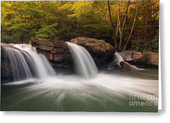 Creek Greeting Cards - Deckers Creek D30019133 Greeting Card by Kevin Funk