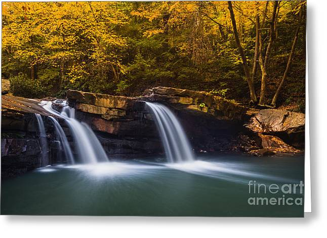Stream Greeting Cards - Deckers Creek D80001516 Greeting Card by Kevin Funk