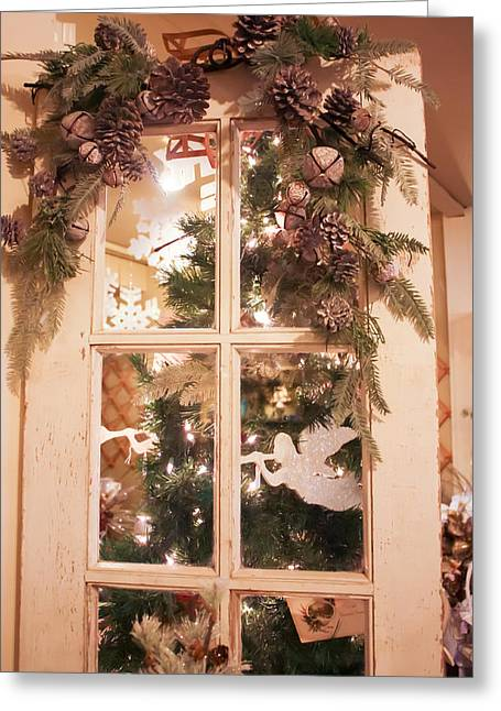 Decorated For Christmas Greeting Cards - Decorated for Christmas Greeting Card by Cynthia Woods