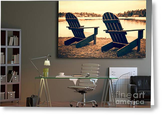 Decorating With Fine Art Photography Greeting Card by Edward Fielding