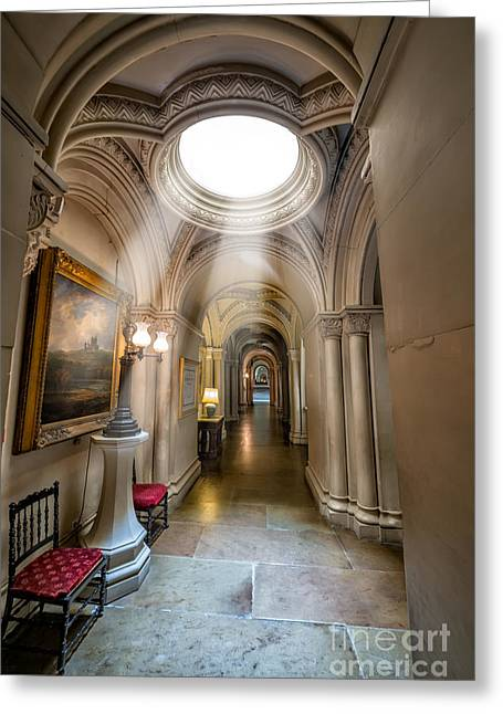 Dome Greeting Cards - Decorative Hall Greeting Card by Adrian Evans