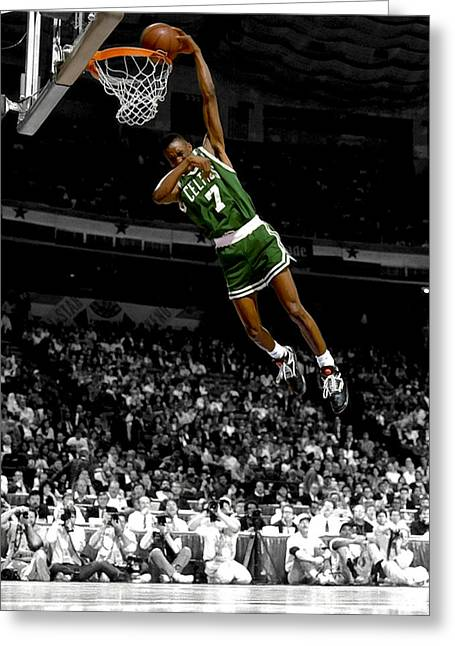 Orlando Magic Digital Art Greeting Cards - Dee Brown Greeting Card by Brian Reaves