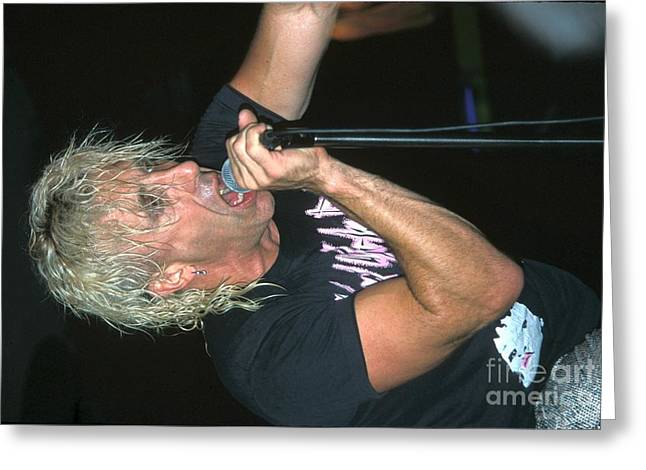 Snider Greeting Cards - Dee Snider Greeting Card by Front Row  Photographs