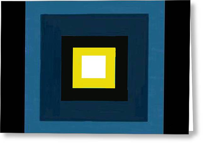 Beige Abstract Greeting Cards - Deep Blue Magic Greeting Card by Rjf at beautifullart  RJ   Friedenthal