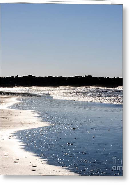 Seascape Photography Photographs Greeting Cards - Deep Blue Seascape Greeting Card by Lucid Mood