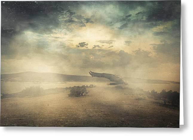 Haze Greeting Cards - Deep sleep Greeting Card by Taylan Soyturk