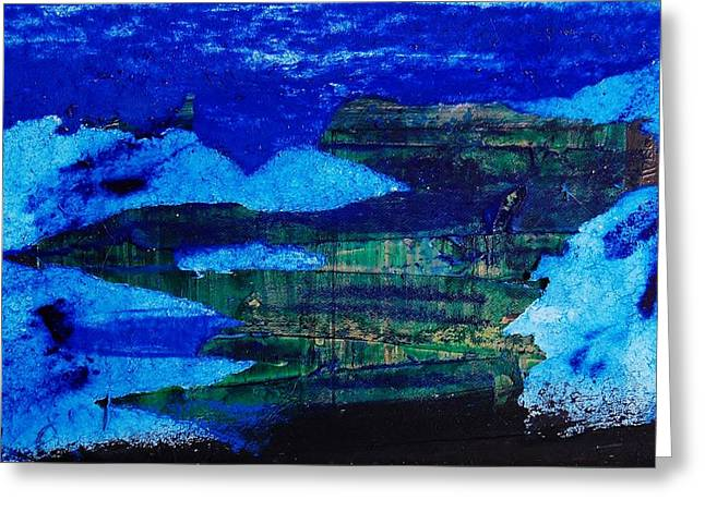 Oil Slick Greeting Cards - Deep Water Horizon Event Greeting Card by Jean Cormier