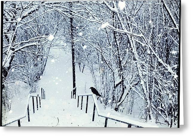 Dirk Wuestenhagen Greeting Cards - Deep Winter Greeting Card by Dirk Wuestenhagen