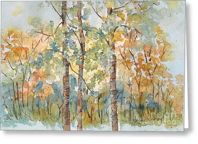 Deep Woods Waskesiu Greeting Card by Pat Katz